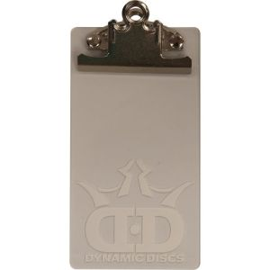 Scorecard clipboard, available at DynamicDiscs.net
